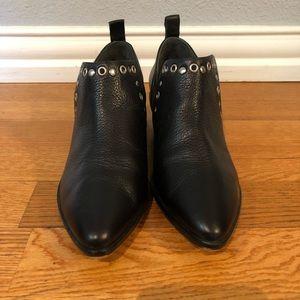 Rebecca Minkoff Black Ankle Bootie EUC